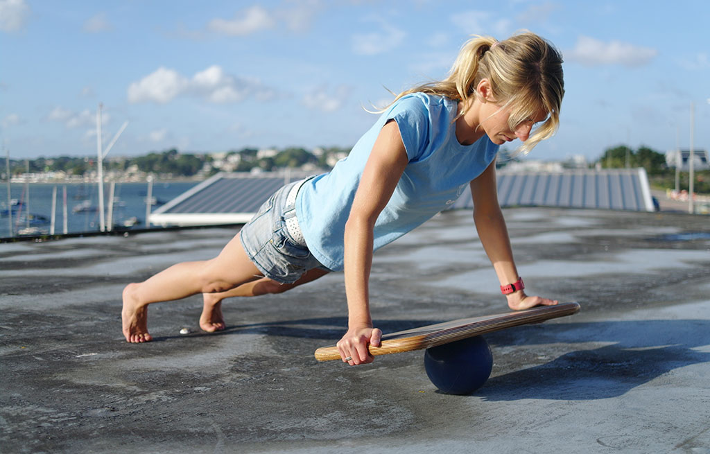 Balance exercises - CoolBoard