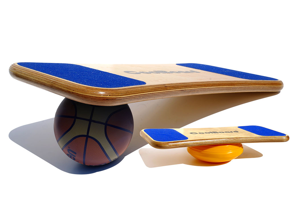 CoolBoard balance board ball and easy start disc