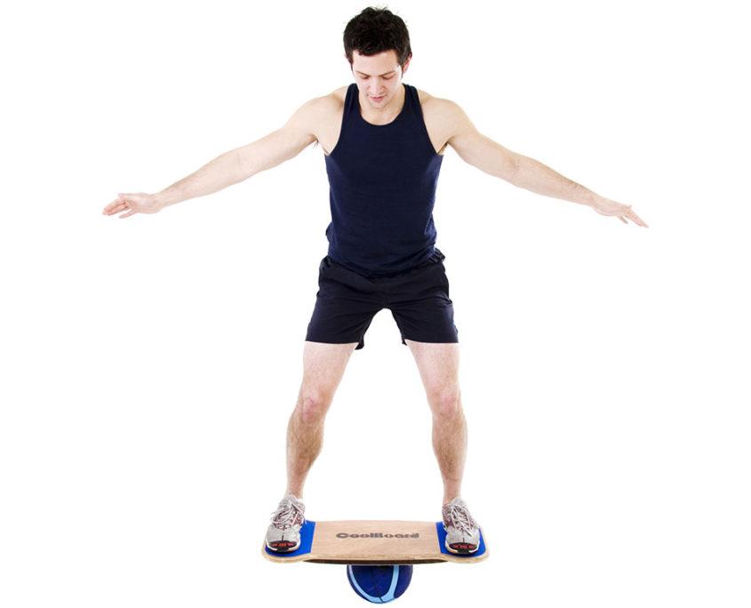 CoolBoard balance board wobble board exercise workout balance