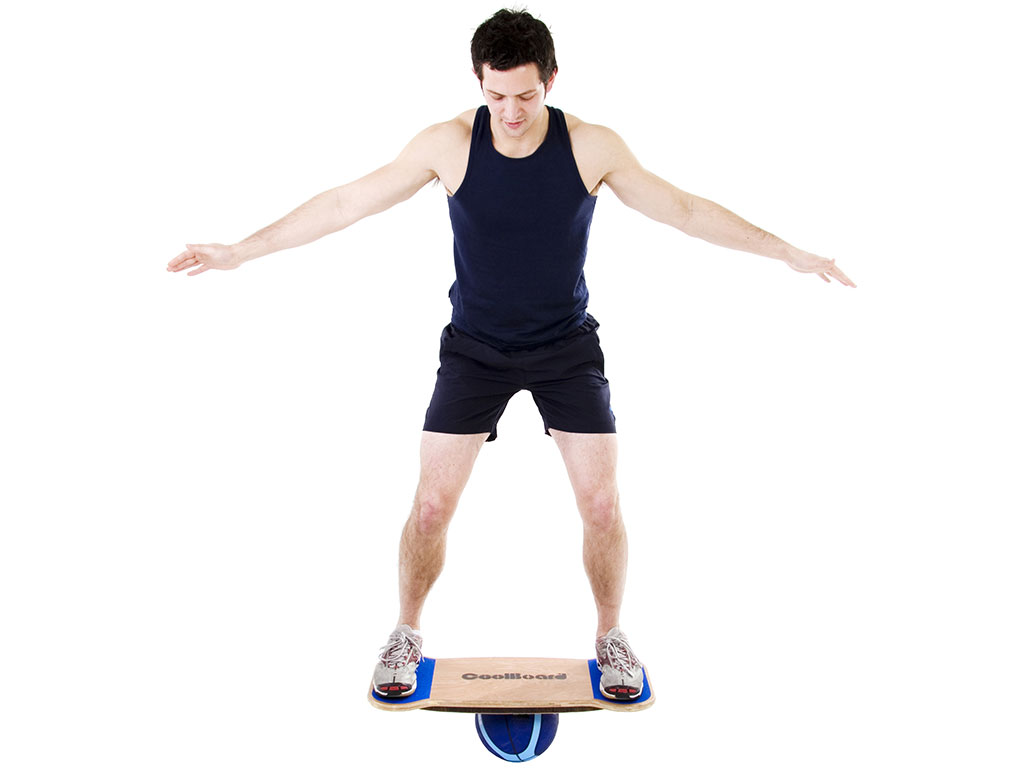 CoolBoard balance board wobble board exercise workout balance