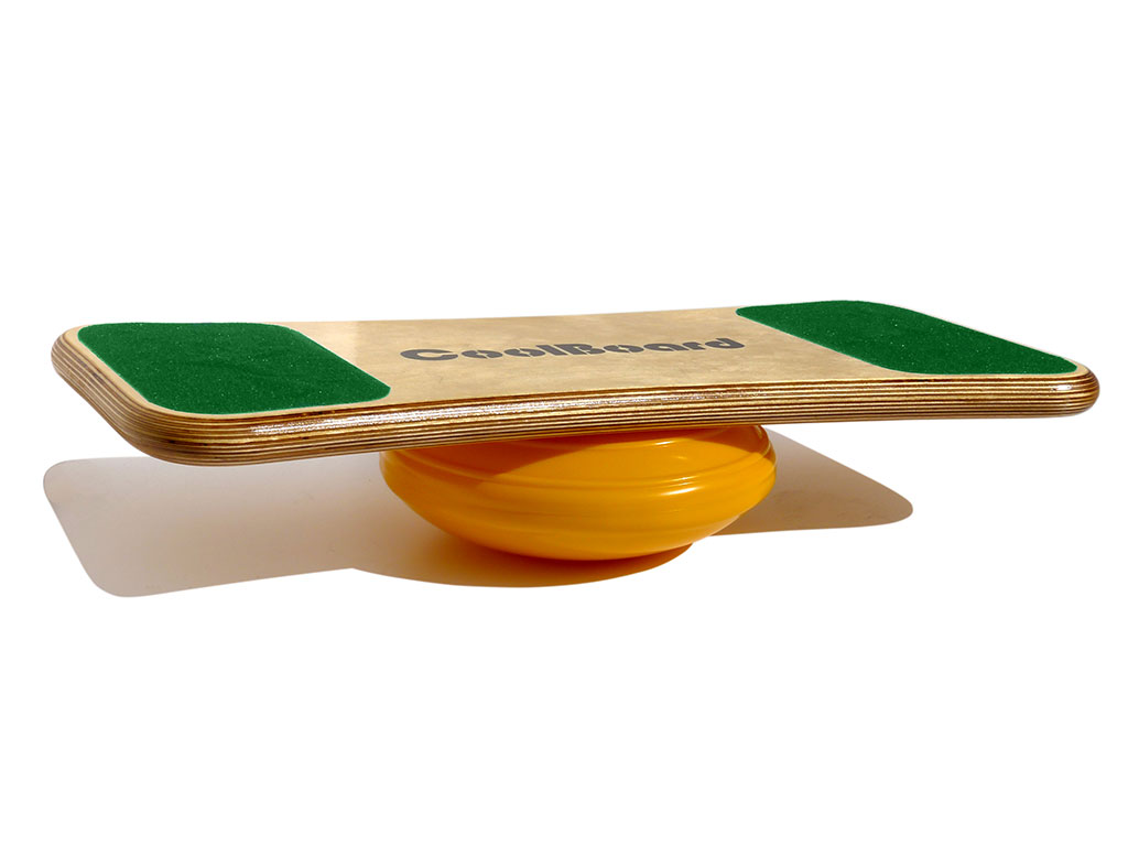 Coolboard wobble board, balance board