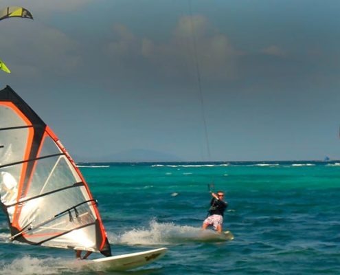 Kitesurfing equipment