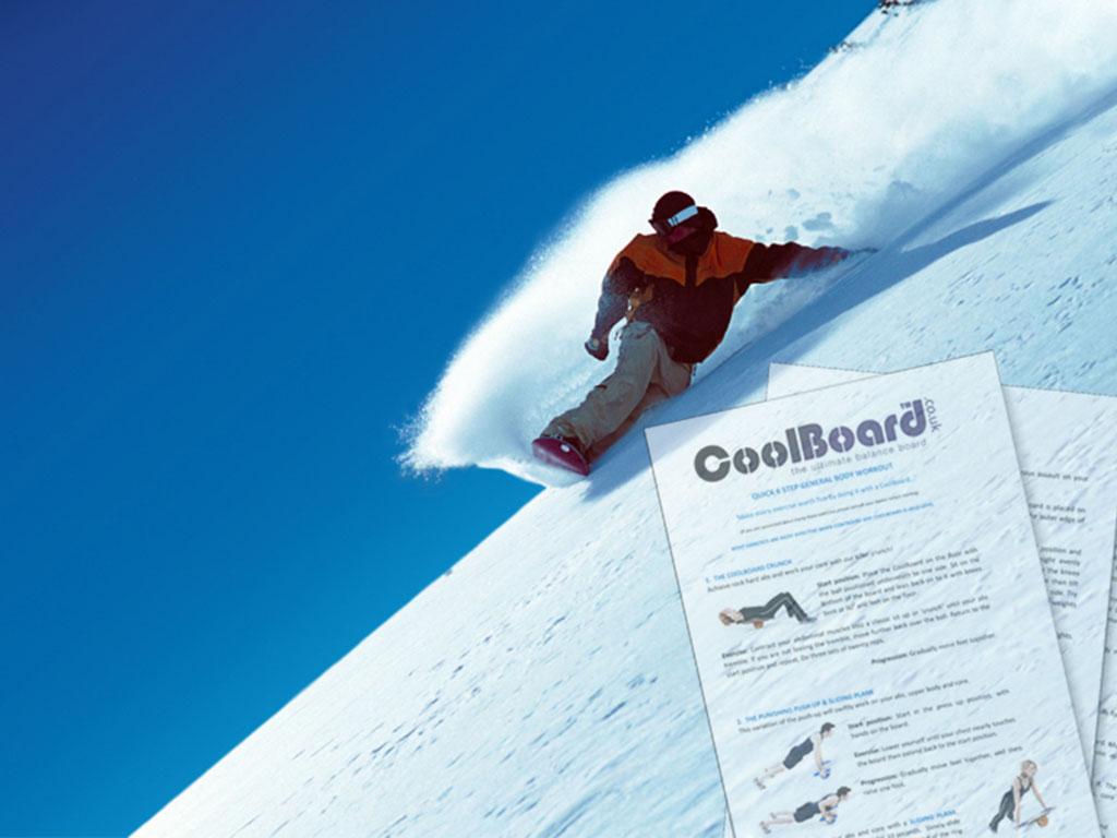 ski exercise fitness workout snowboard exercise fitness workout for coolboard balance board
