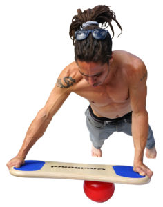 coolboard sliding plank exercise