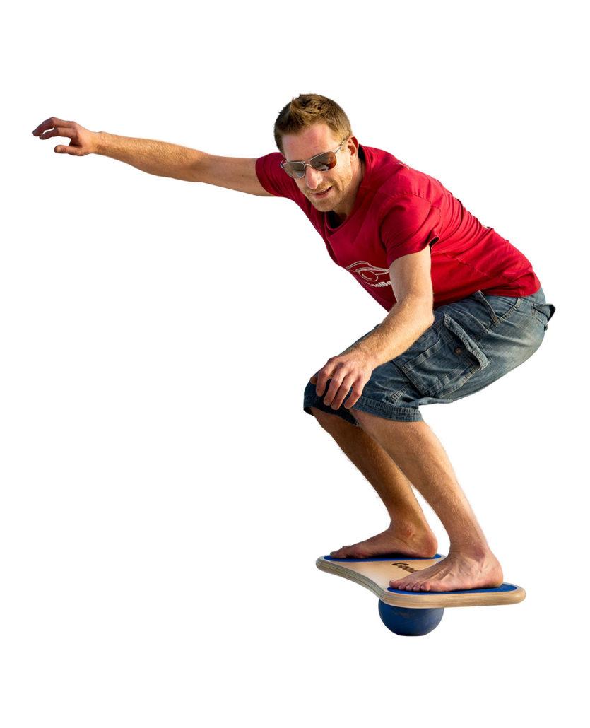 CoolBoard creator Nic Smith on his balance board