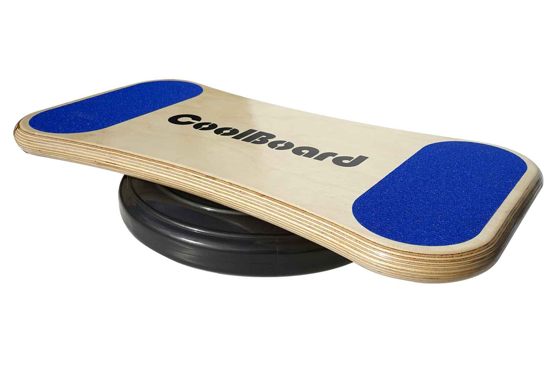 Image of CoolBoard wobble board, Medium, on 40 cm balance disc, 3/4