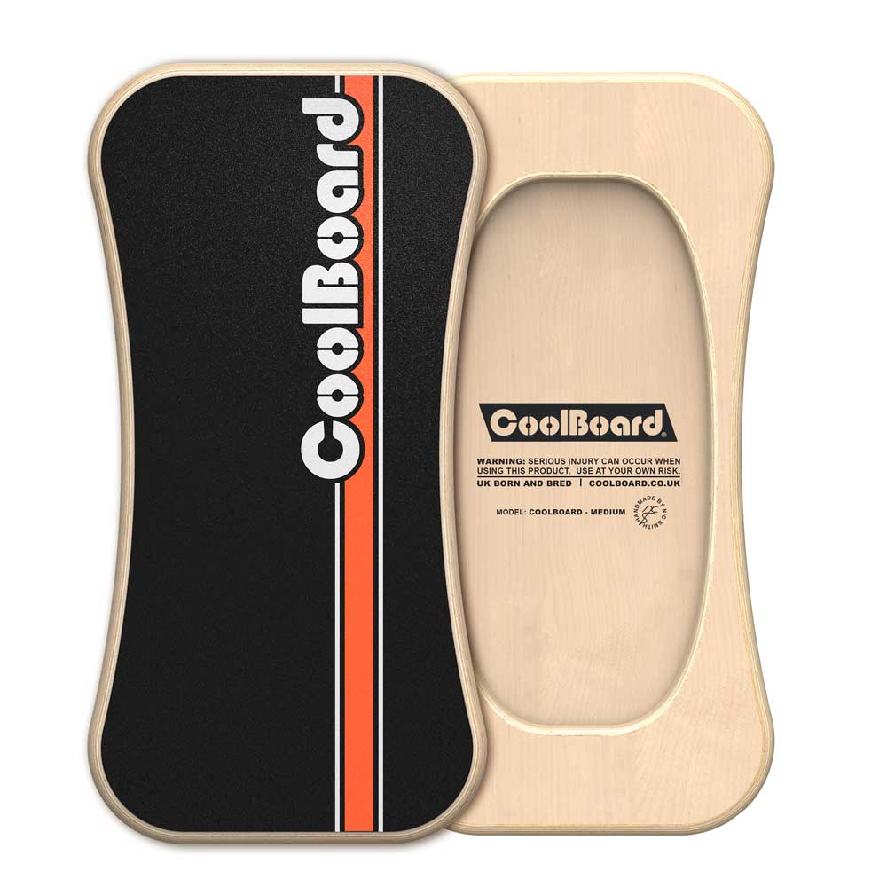 medium CoolBoard wobble board front and back