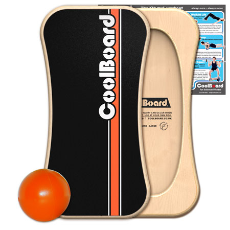 Large CoolBoard balance board with Ball