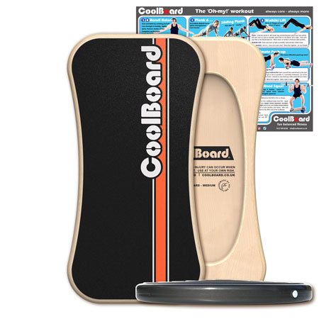 Medium CoolBoard wobble board with Disc