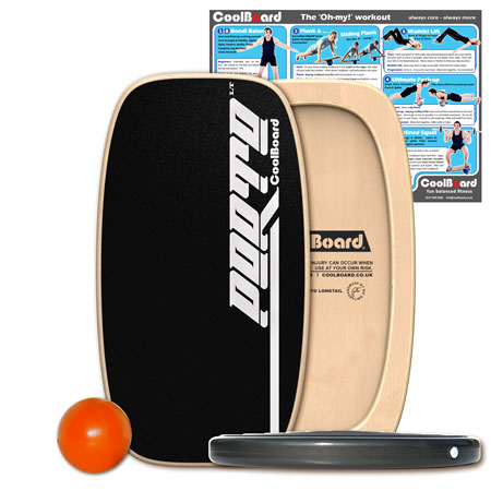 Porto LT balance board with Ball and Disc